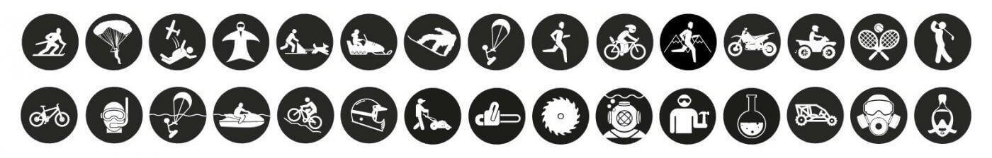 Clipoptic® permet d'avoir une paire de lunettes et d'adapter tous les masques à la vue grâce à l'insert optique. Il est idéal pour de multiples actitivés (ski, snowboard, parapente, plongée, chute libre, moto neige, vélo, course à pied, jetski, moto cross, jardinage, bricolage) et s'adapte aussi aux masques respiratoires et de sécurité.